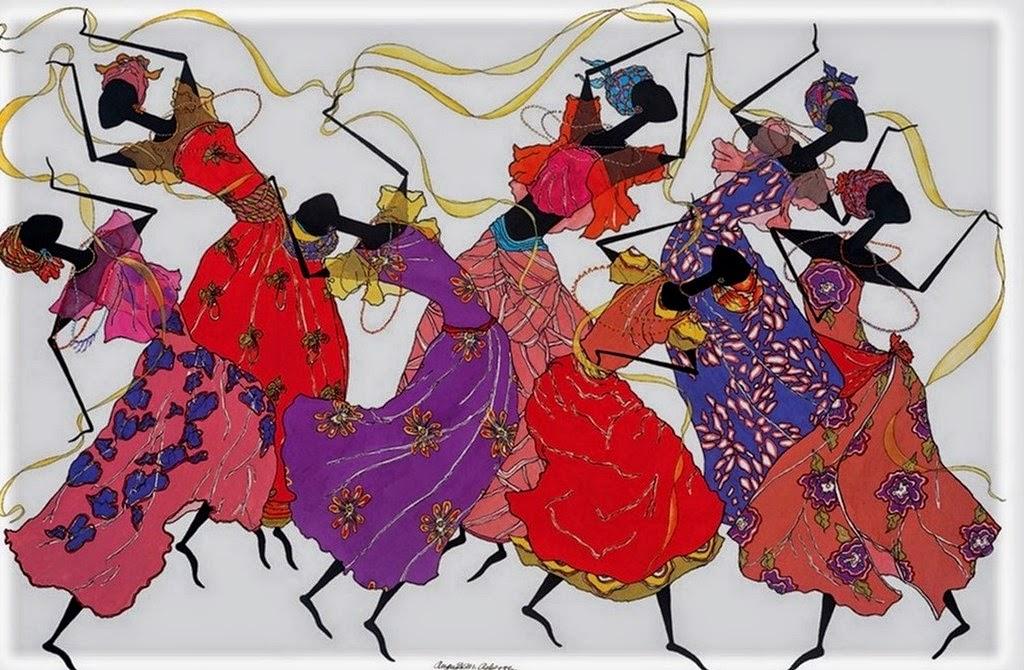 pinturas-de-mujeres-africanas