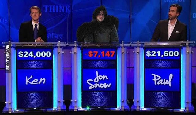 Jon Nieve concurso - Juego de Tronos en los siete reinos