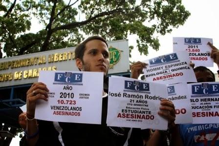 MUD: Asesinato de dirigente estudiantil enluta a la Venezuela democratica y unitaria