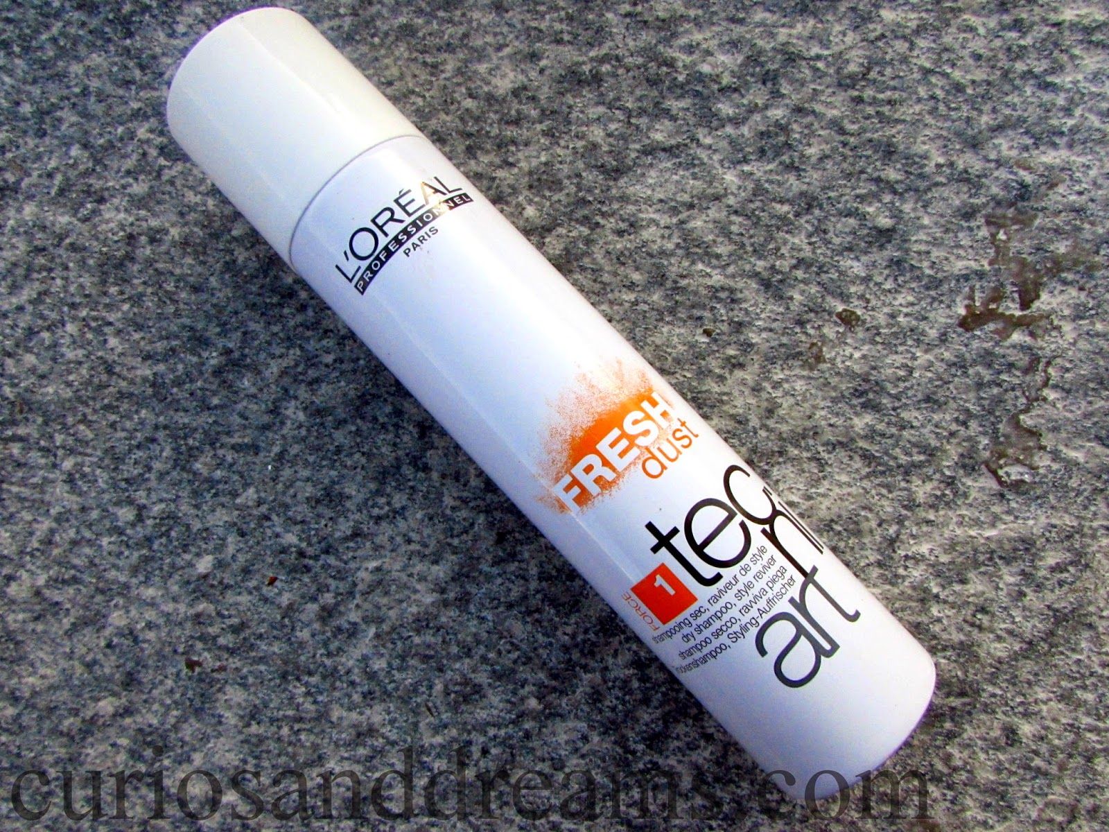 Loreal Fresh Dust Dry Shampoo Review, Loreal dry shampoo review