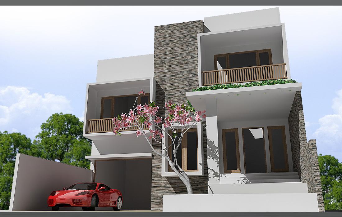 Fasad Rumah Modern Minimalis . ini aku ada sebagian contoh model fasad ...