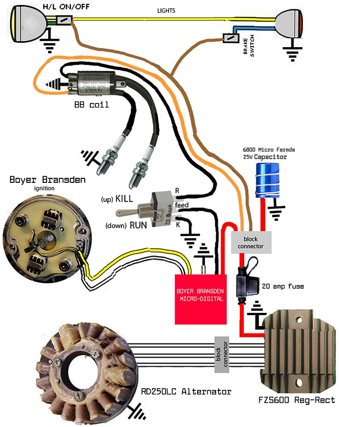 [SCHEMATICS_4UK]  Boyer Bransden schematic | Yamaha XS650 Forum | Triumph Wiring Diagram With Boyer |  | Yamaha XS650 Forum