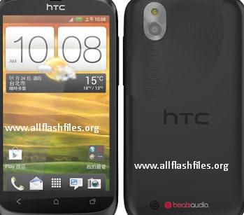 HTC Desire u t327w flash file