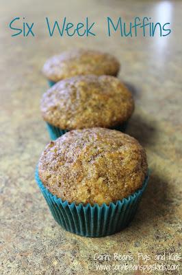 #ad Make Ahead Six Week Breakfast Muffins #AEdairy