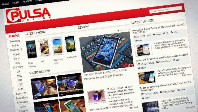 Tabloid Majalah Pulsa Online Edisi Agustus 2014