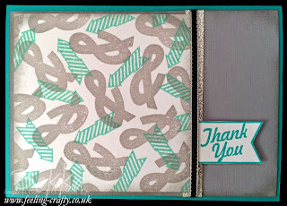 Graphic Design Inspired Hello Lovely Card by UK based Stampin' Up! Demonstrator - get your Stampin' Up! goodies here