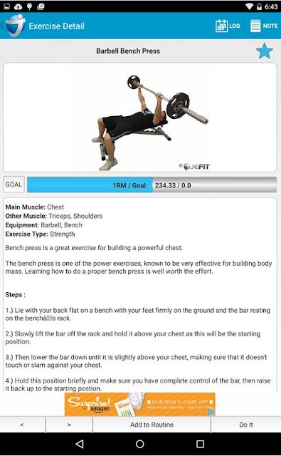 Le 6 migliori applicazioni per i tuoi allenamenti - Jefit