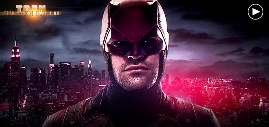 Netflix a dezvăluit costumul roșu al personajului Daredevil