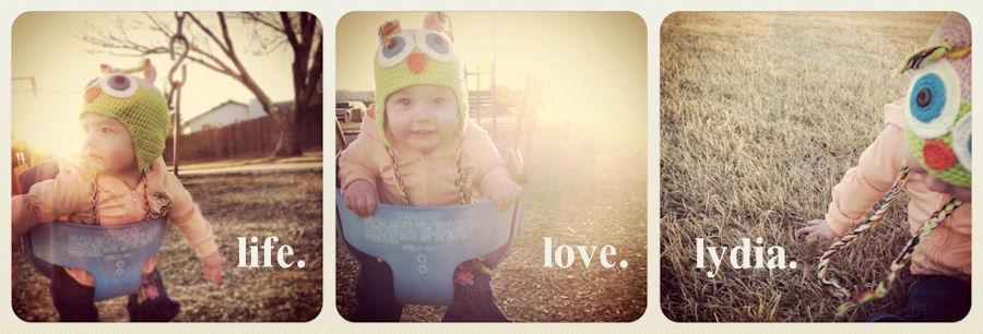 life. love. lydia.