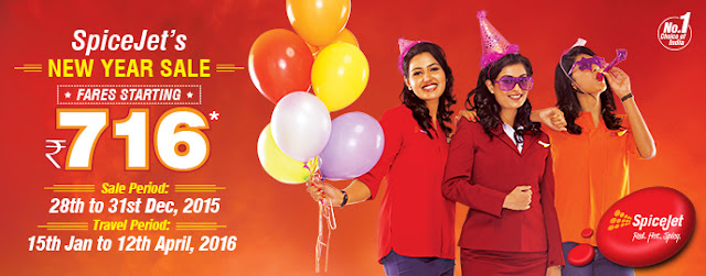 Spicejet NewYear Sale.......www.aksharonline.com, Akshar Tours and Travels, Akshar International