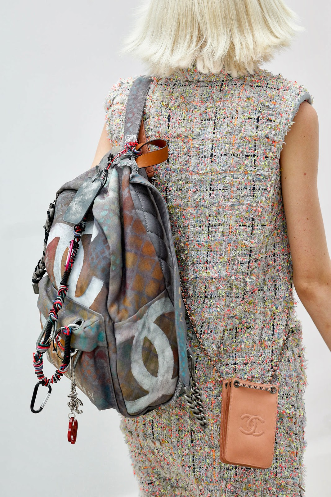 perfect pick the chanel s s 2014 backpack gnitide