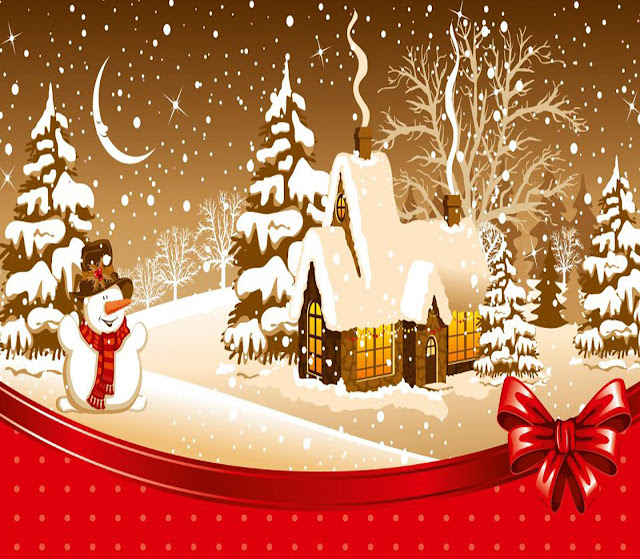 animated snow Merry Christmas wallpapers