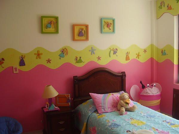 Dormitorios infantiles recamaras para bebes y ni os for Decoracion de dormitorios infantiles de nina