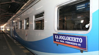 Kereta Api Joglokerto Ekspress relasi Solo-Yogyakarta-Purwokerto