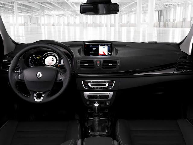 Novo Renault Mégane III 2016 - interior