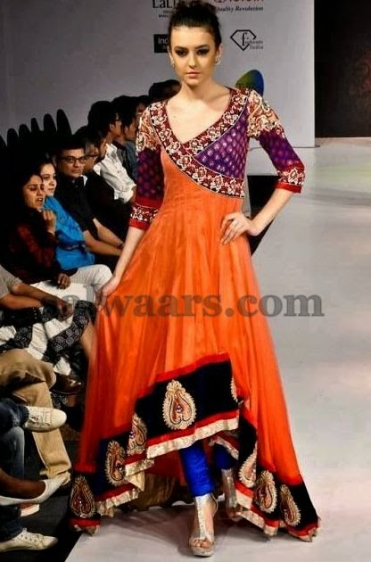 Stylish Patterned Chic Salwar