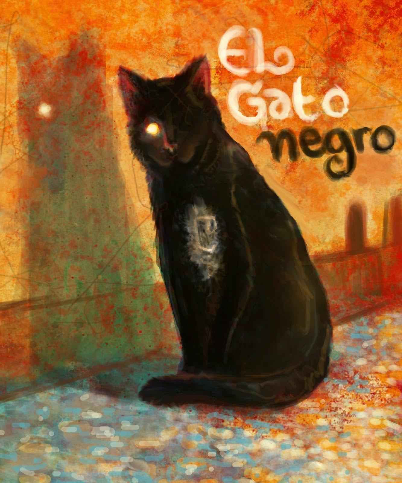 Bit cora de lectura el gato negro - El gato negro decoracion ...