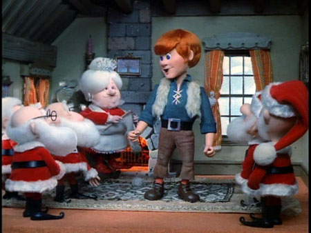 Claus with the Kringles in Santa Claus is Comin' to Town 1970 animatedfilmreviews.blogspot.com