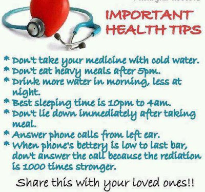 read carefully and share these tips with your friends and family and ...