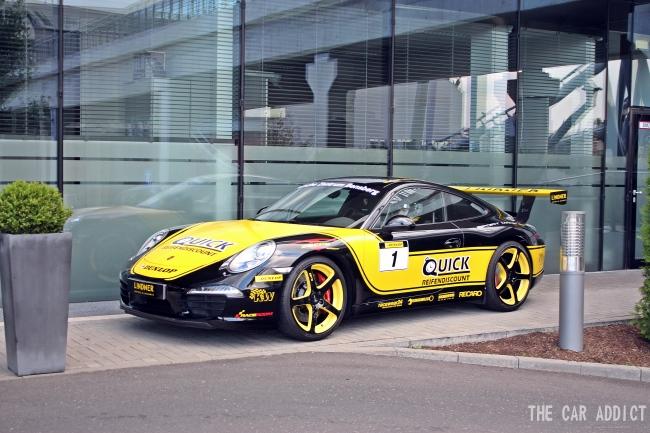 Porsche Hotel Lindner Carspotting Nurburgring 2013