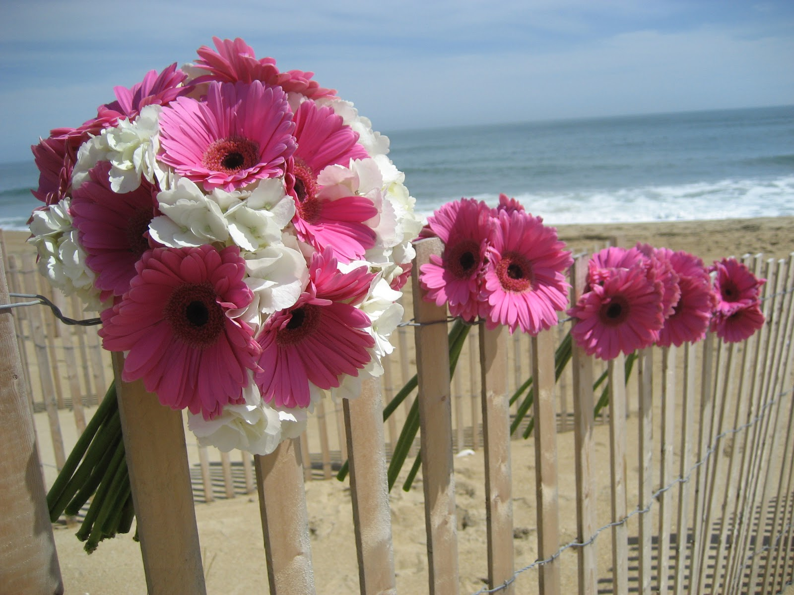 Bouquet Friday - Hot Pink - The Embellishers - Outer Banks, NC