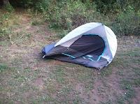 Tent stake fail