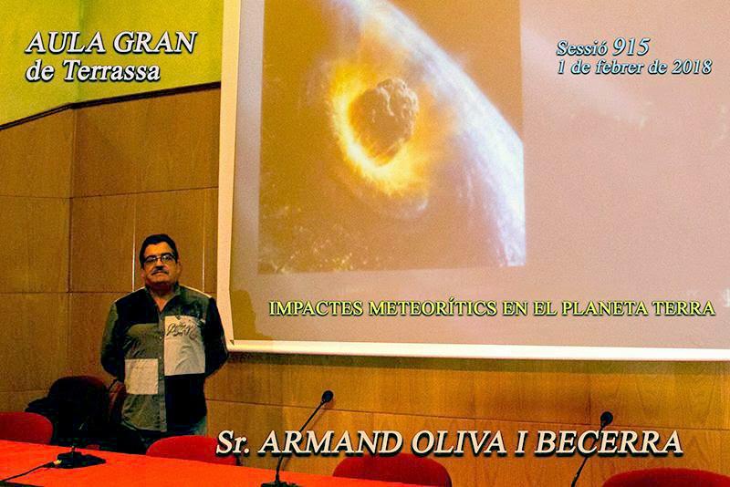Conferéncia a la Escola Superior d'Enginyeries Aeroespacial, i Audiovisual de Terrassa
