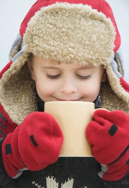 Aumente a imunidade das crianças no inverno