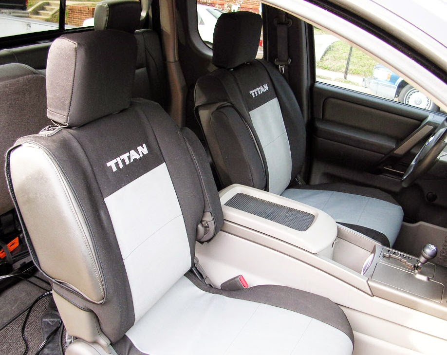 nissan titan seat covers image