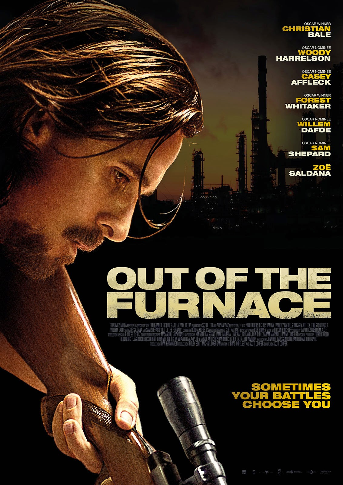 Out Of The Furnace (2013) 720p 1.1GB Blu-Ray Dual Audio [English DD 5.1 – Hindi DD 5.1] MKV
