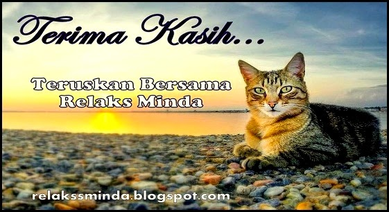 Status Blog Relaks Minda bagi Bulan April 2014
