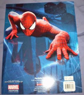 Back cover of Amazing Spider-Man portfolios 2014 edition #2