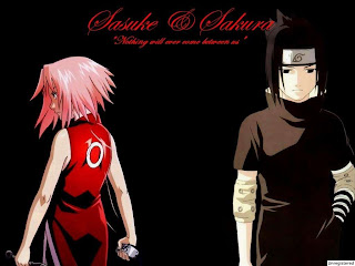 Sakura and Sasuke Wallpaper