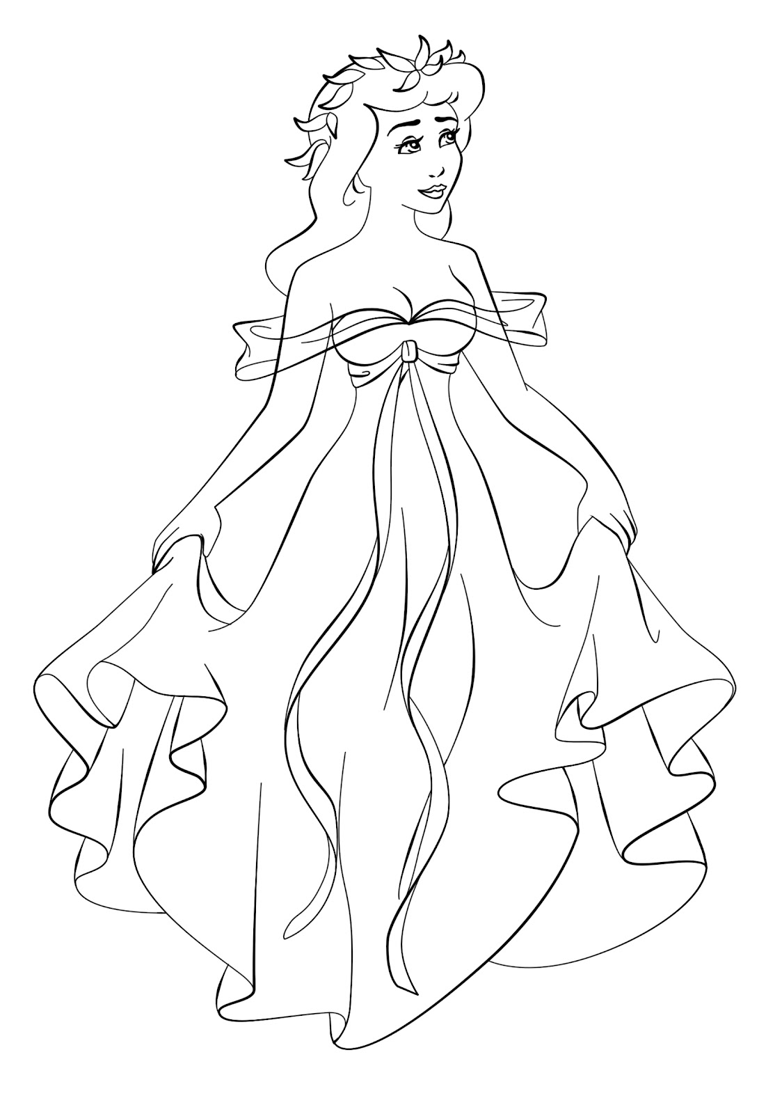 giselle coloring pages - paola tosca art disney crossover linearts