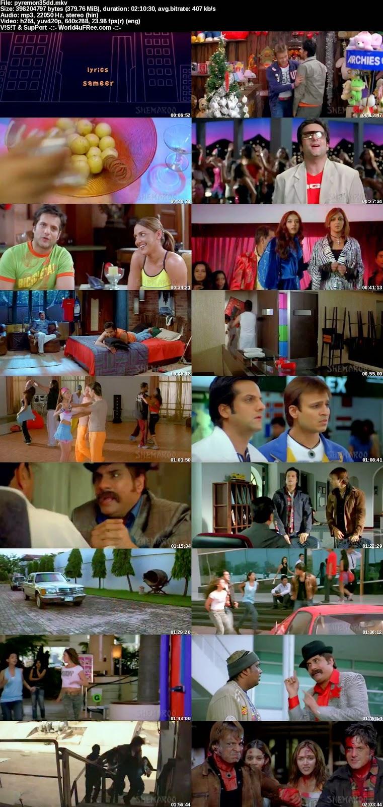 pyare mohan 2006 hindi 300mb movie download world4ufreeorg