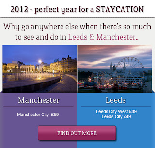 2012 IS THE PERFECT YEAR FOR A STAYCATION