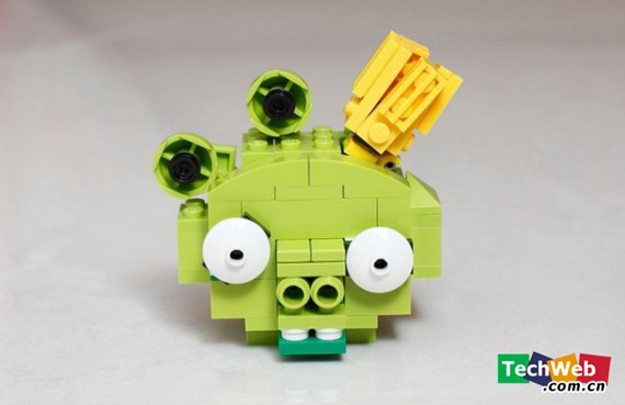 Angry Birds Versi Lego!!