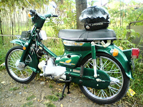 My Super Cub Honda C70