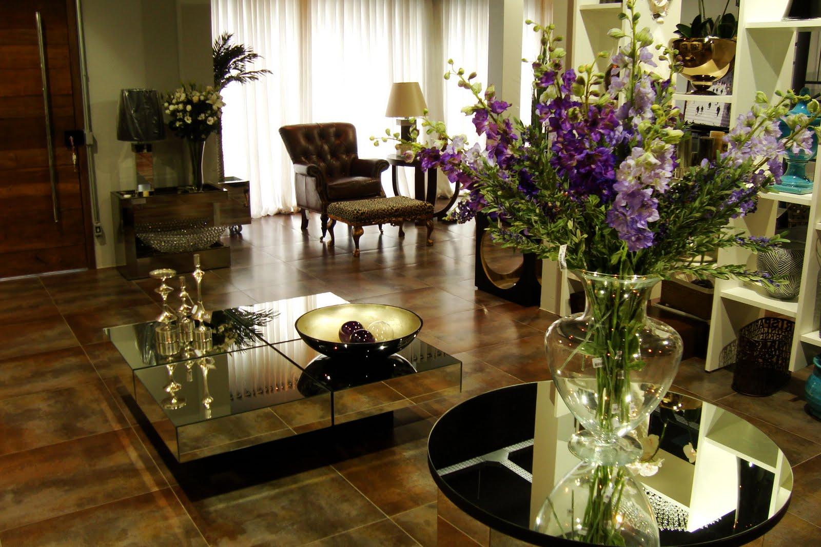 nichos centros de mesa arranjos de flores viva casa a arte do bom