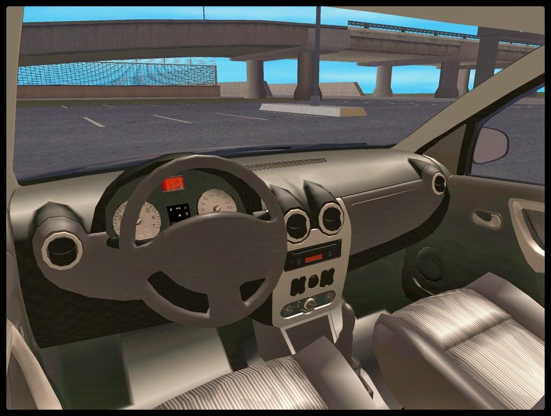 GTA SA - Renault Sandero Baixo na Suspensão Fixa