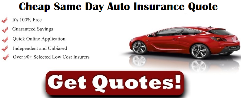 Same Day Car Insurance