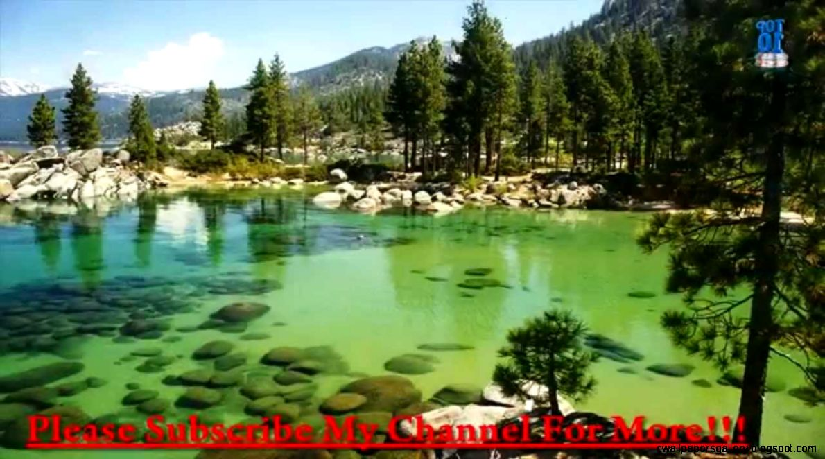 Top 10 Most Beautiful Lakes In The World   YouTube