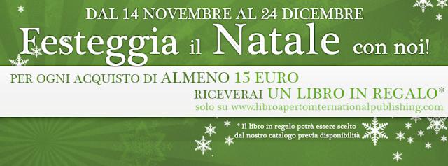 PROMOZIONE NATALE LIBRO APERTO INTERNATIONAL PUBLISHING