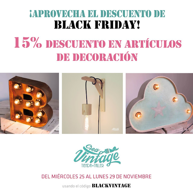 Descuentos en decoración black friday