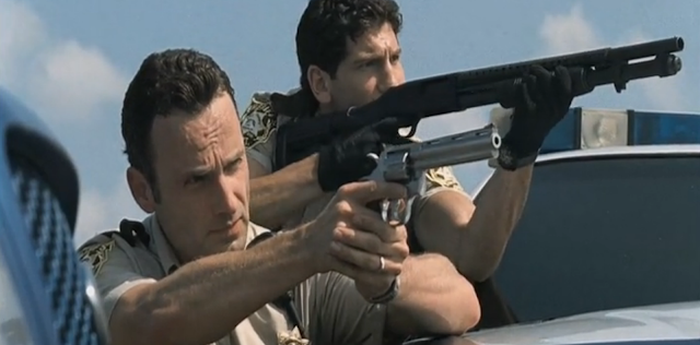 Rick and Shane - The Walking Dead