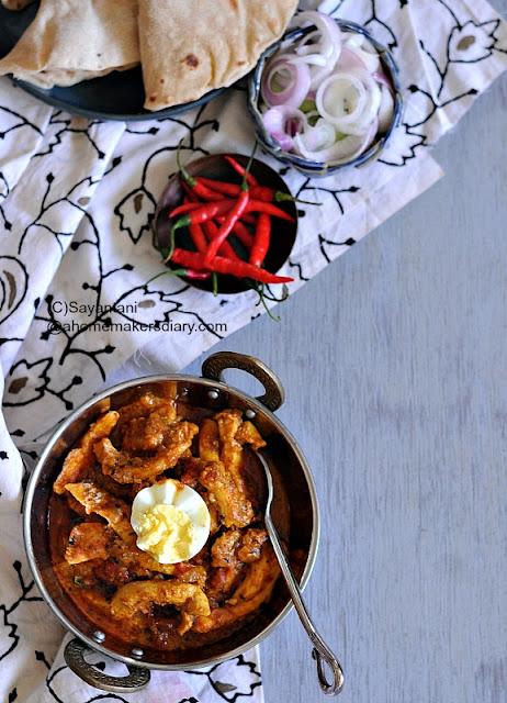 Chicken Bharta, Restaurant Style