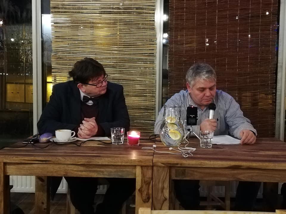 Robert Miniak w Warszawie
