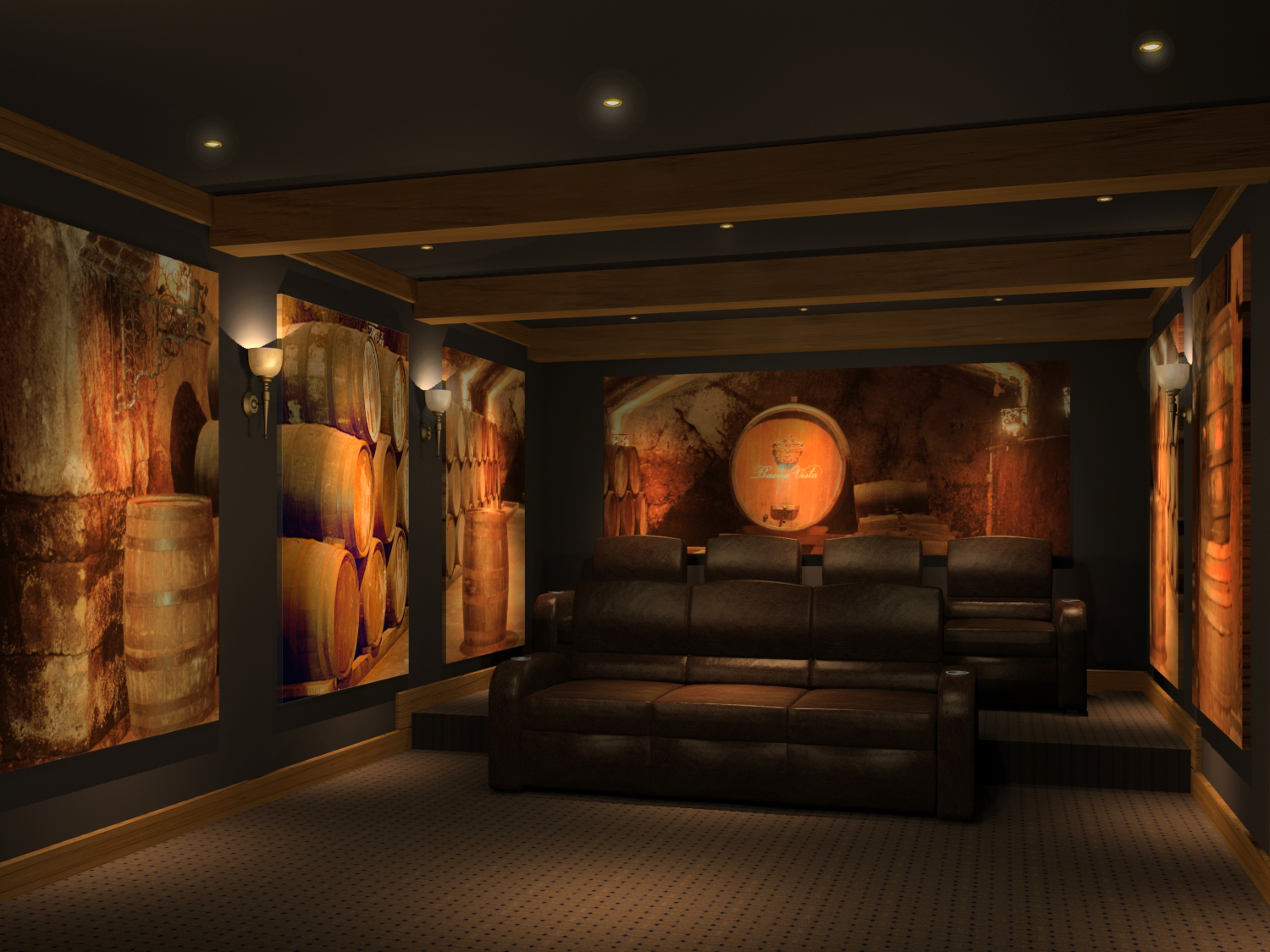 Awesome Home Theater Design