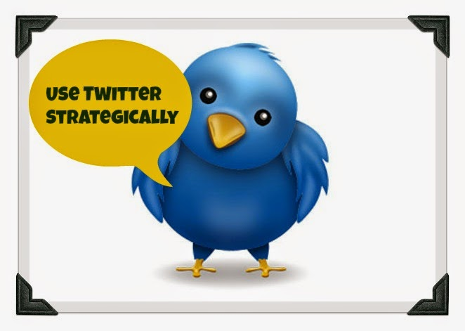 use twitter strategically
