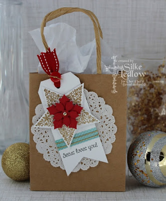 Our Daily Bread Designs, His Birth, Sparkling Star, Peaceful Poinsettia, Christmas Paper Collection, designed by Silke Ledlow